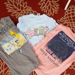 Bundle simply southern shirts